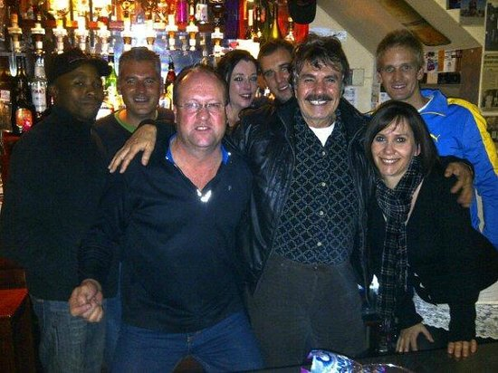 Trattoria San Francesco : Having fun at the bar!