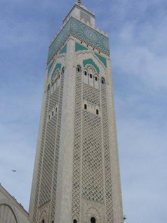 Mosquée Hassan II : MINARETE
