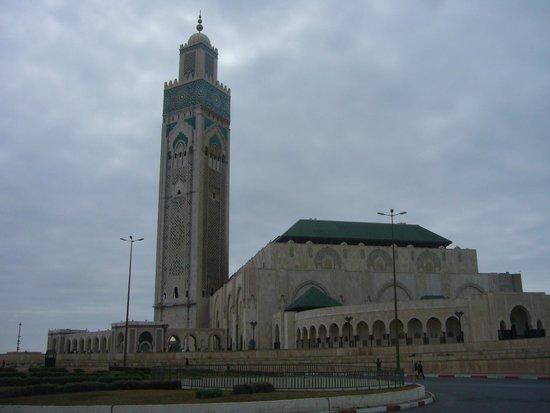 Mosquée Hassan II : VISTA GENERAL