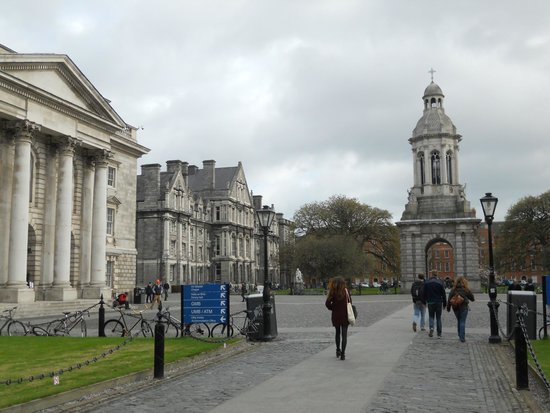 The Book of Kells and the Old Library Exhibition: trinity college
