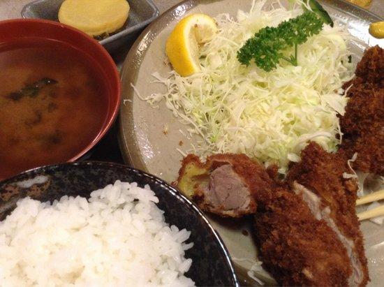Aji no Tonkatsu Maruichi : 1300円のヒレカツランチ食べました