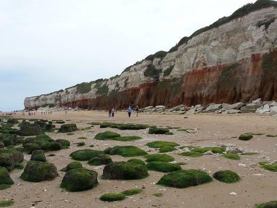 The Lodge Inn: Old Hunstanton Beach and Cliffs