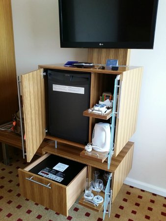 Radisson Blu Hotel London Stansted Airport: Everything is in here