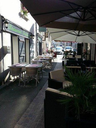 La Table d'Ysoa : terrasse