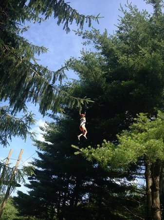 Hocking Hills Canopy Tours : Dragonfly Course