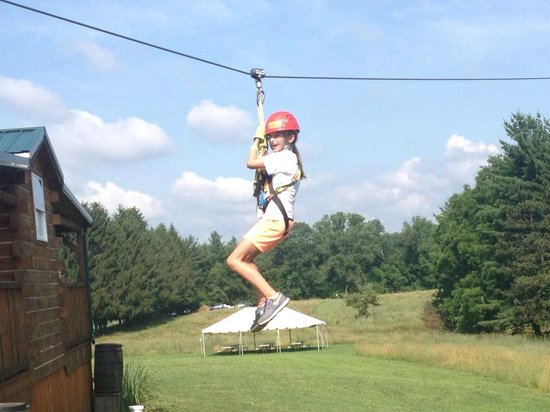 Hocking Hills Canopy Tours: Dragonfly Course