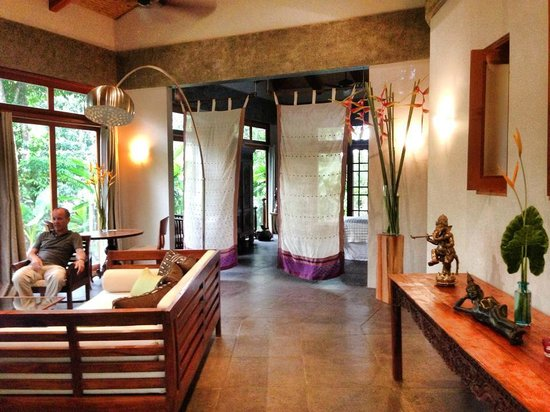 Prana Rainforest Retreat : Villa...such a tranquil space