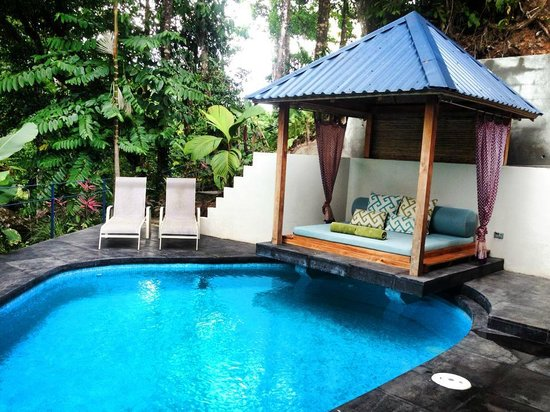 Prana Rainforest Retreat : Private pool. With lanai. Enough said : )