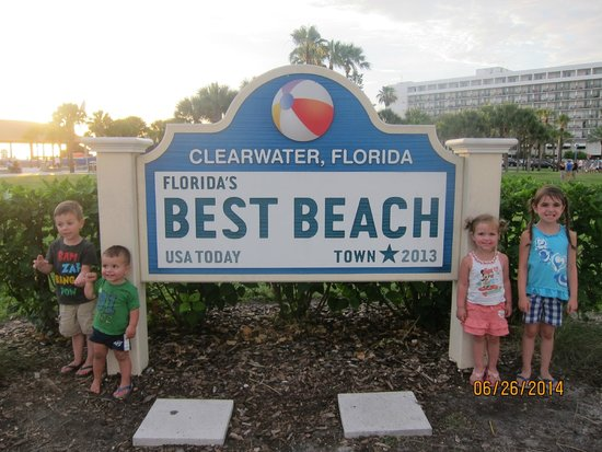 Clearwater Beach : signage