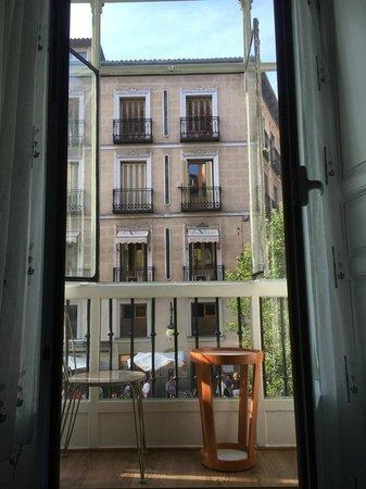 Hostal Oriente: Balcón