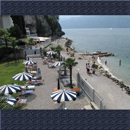 Hotel Castello Lake Front: Plage