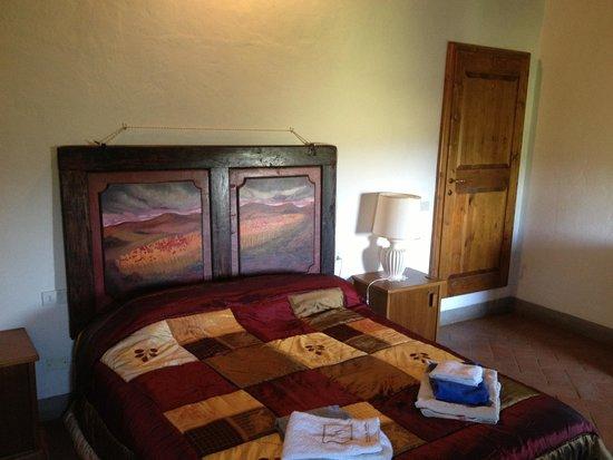 Borgo Carpineto: The room lavanda  Saluti from Bulgaria