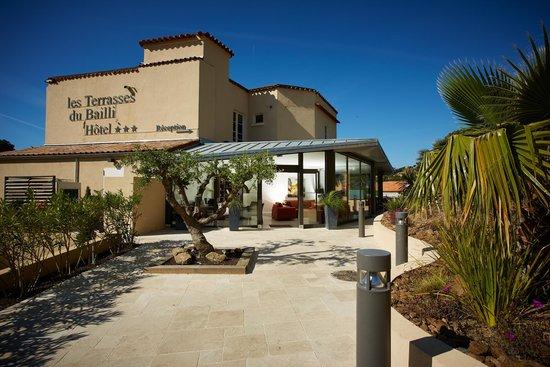 Hotel Les Terrasses du Bailli : L'Hôtel *** Les Terrasses du Bailli