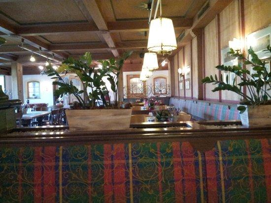 Hotel Gasthof Kamml : vista della stanza per le colazioni
