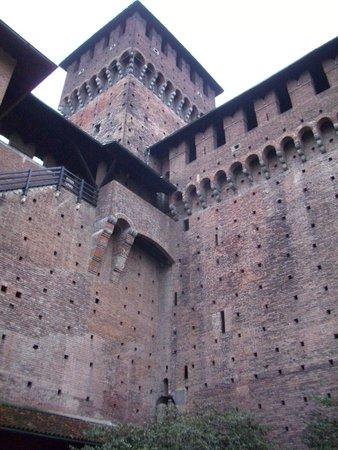 Pinacoteca Castello Sforzesco: Башня замка Сфорца