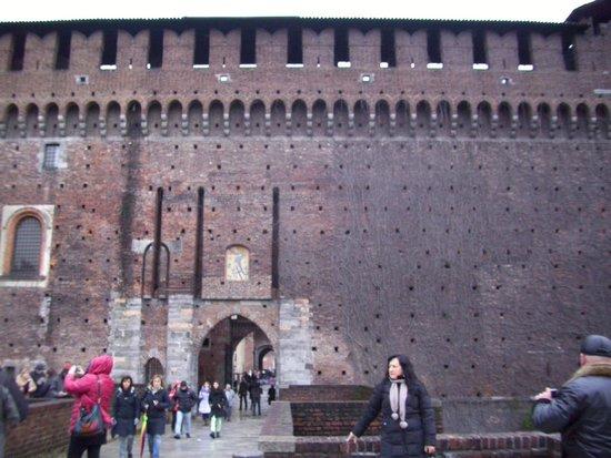 Pinacoteca Castello Sforzesco: В замке Сфорца