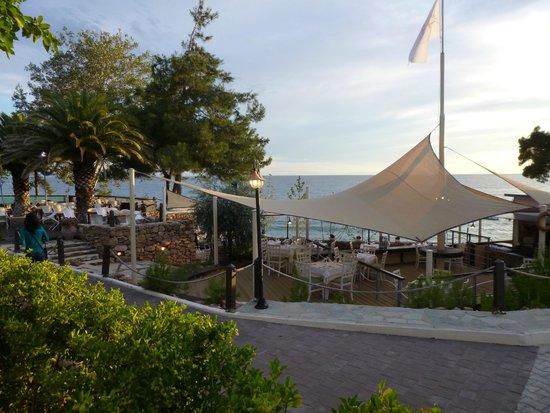 Alexandra Beach Thassos Spa Resort: Taverna