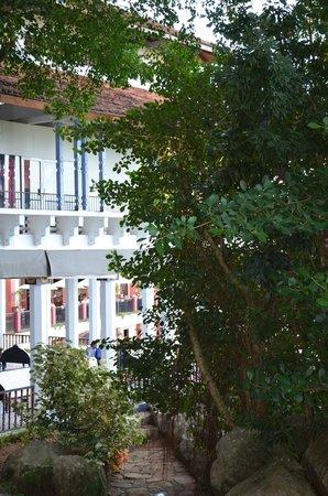 Amaya Hills Kandy : fronte dell'albergo