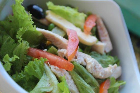 Anchor Roof Top Beer Garden: Chicken Salad. All is fresh!