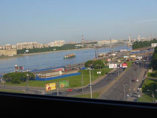 Moscow Hotel: 8階のバーからの眺望