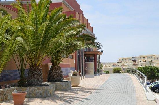 KN Matas Blancas : Hotel Eingang