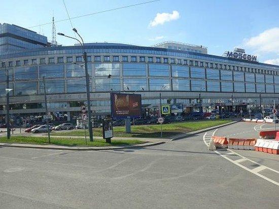 Moscow Hotel: ホテル外観