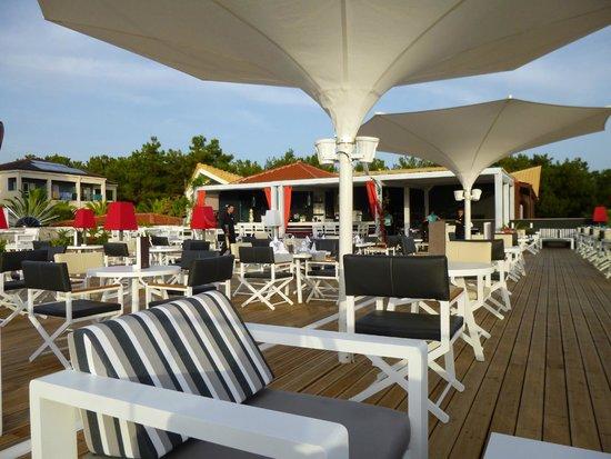 Alexandra Beach Thassos Spa Resort: Roof top bar and restaurant