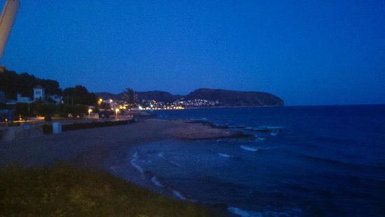 El Chamizo: Evening view from the restaurant