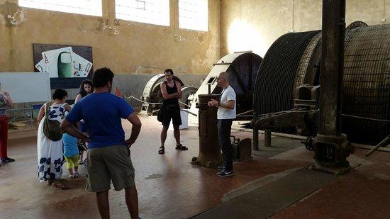 Museo del Carbone: I cavi per tirare su il carbone