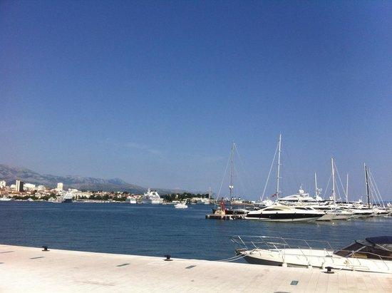 Design Hostel Goli&Bosi: Marina, 2 minute walk from hotel.