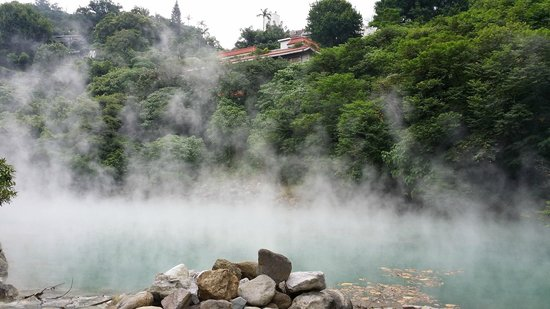 Beitou Thermal Valley(Hell Valley): Beitou thermal valley