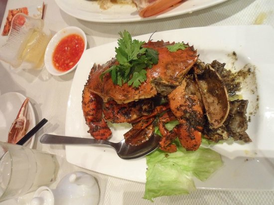 Jumbo Seafood : The signature black pepper crab!