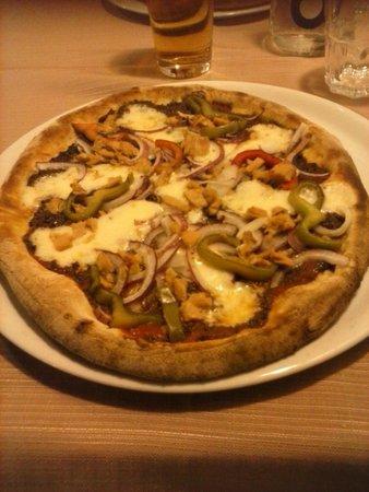 VILLA FERRI : pizza con farina petra