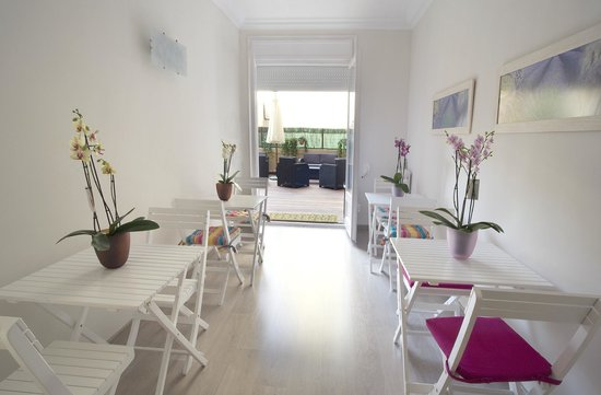 Blanc Guesthouse: Comedor