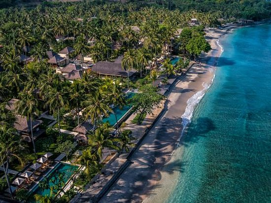 Qunci Villas Hotel : Aerial Photos with 360° degree photo tours (accessible on web site)
