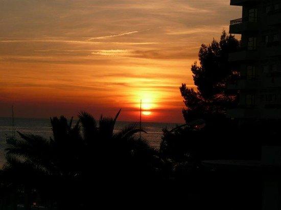 Hotel Osiris: Sunset from the Osiris