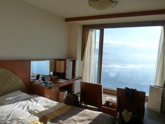 Lake Saroma Tsuruga Resort : サロマ湖を望む部屋