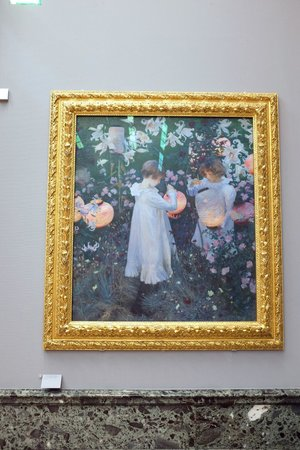 Tate Britain: Love this Sargent's painting.