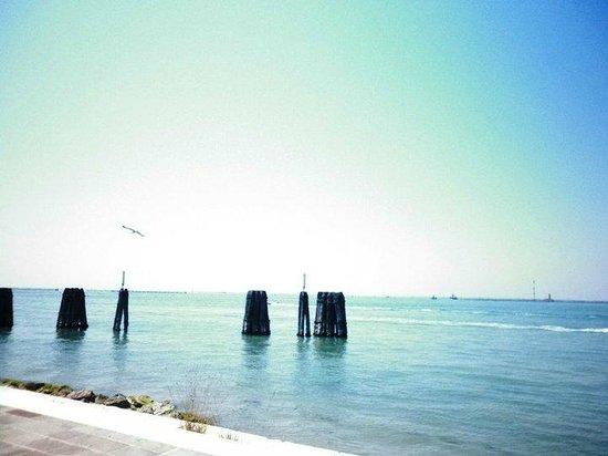 Isola di Pellestrina: vista dal porto