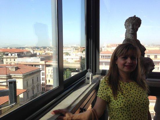 Hotel Romanico Palace: breakfast area