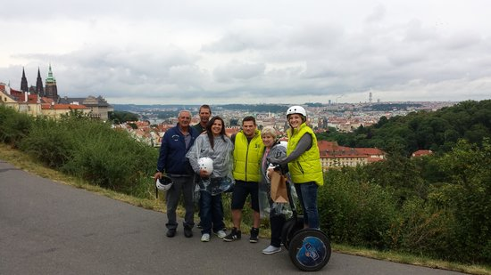 Prague Segway Tours : Awesome view of the City