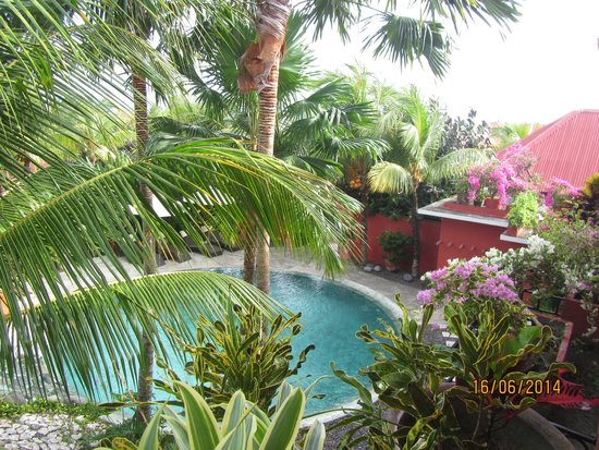 PinkCoco Bali: View from my room