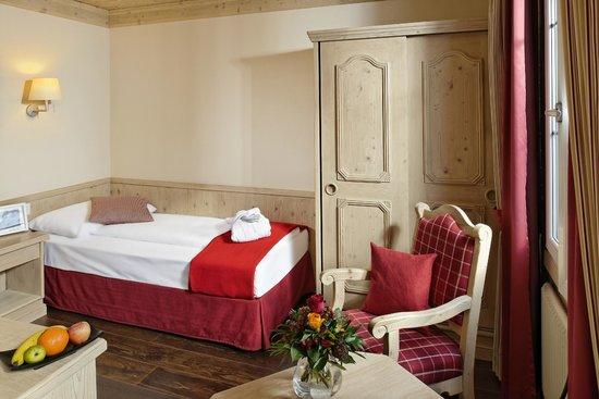 Hotel Spinne: Einzelzimmer Südseite mit Eigerblick