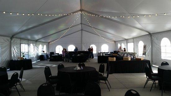 Aloft Cleveland Downtown: 3 Season Tent