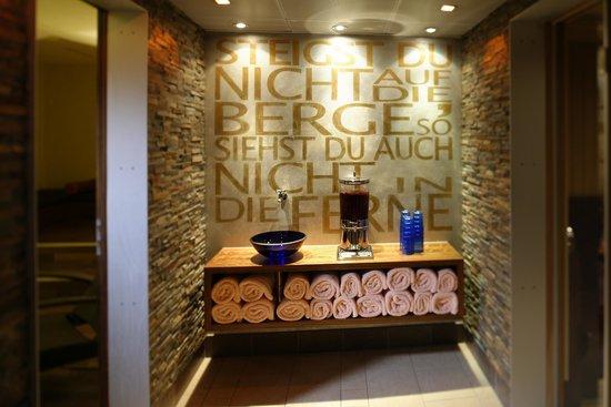 Hotel Spinne: Wellnessbereich