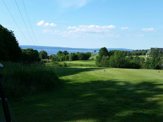 Crooked Tree Golf Club : View of the bay
