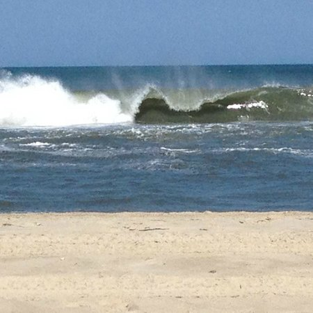 Cape Hatteras KOA: vagues déferlantes