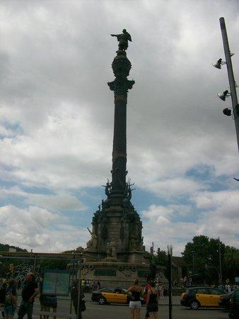 Monumento a Cristoforo Colombo : Памятник Колумбу в Барселоне