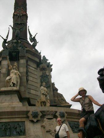 Monumento a Cristoforo Colombo : У памятника Колумбу в Барселоне