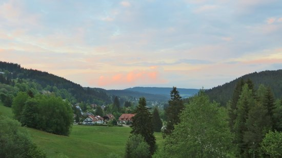 Bierhäusle Landhotel: The view from the apartment